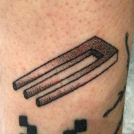 Tattoo Handpoke par Raoul