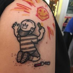 D'après Dran. Dotwork . Tattoo Par Raoul