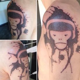 Tattoo Dotwork par Raoul